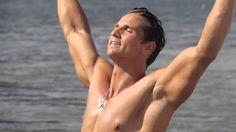 T Fabiano Swimwear Brasil with Fitness Model David Morin.