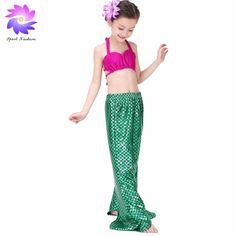 3 PCS Child girls mermaid swimsuit Security kids swimwear Bikini Set Swimsuit Swimwear Catton Animal Bathing Suit Majorca ** This is an AliExpress affiliate pin. Clicking on the image will lead you to find similar product on AliExpress website Innovation, Swimsuits 2017, Mermaid Swimsuit, Harem Pants, Pajama Pants, Kids Swimwear, Bikini Set, Kids Girls, Bathing Suits