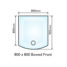 Kudos Infinite 800mm Centre Folding Shower Door | Shower doors ...