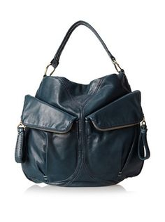 70% OFF 49 Square Miles Women's Big Mouth Hobo, Deep Teal