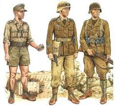 afrika korps uniform - Google zoeken