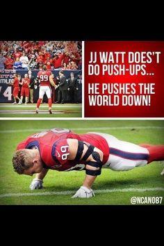 J.J. Watt - a role model for everyone!