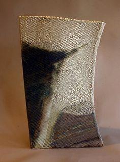 Fragment 2 - Ros Auld sculptural vase