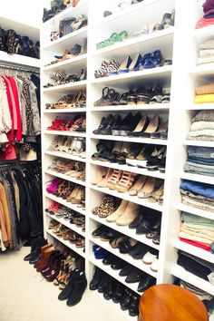 This closet makes my heart go pitter pat!