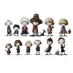 Little Doctors by MJ Hiblen Comic Book Heroes, Comic Books, Fantasy Illustration, Mj, Doctors, Tshirt Colors, Female Models, Pop Culture, Classic T Shirts