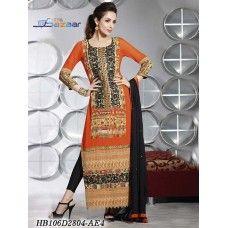 Amber Embroidered Salwar Set ( 20% Discount)