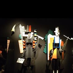 Costume design by Picasso for the Russian Ballet - amazing!