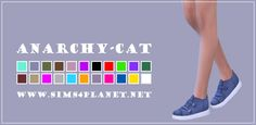 Anarchy-Cat: Madlen Budelli Shoes recolors • Sims 4 Downloads