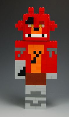 Foxy from Five Nights at Freddy's custom creation by BrickBum available on Etsy.