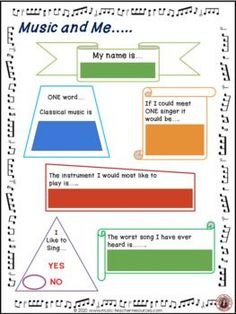 These are excellent first lesson activities to help students get to know each other and teachers to gain an overview of the students' music background and knowledge as well as their literacy level.♫ This PDF file containing SIXTEEN Ice Breaker activities for young musicians. !This resource is meant to be used with Google Slides™ and can be assigned inside of Google Classroom™; perfect for distance learning.