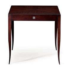 Christopher Guy :: 76-0128. Beautiful graceful legs on this piece with the useful drawer -- nice as a side table or nightstand. Available is six different finishes.