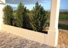 Muret de soutènement préfabriqué en béton armé; clôtures murs monoblocs.