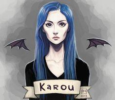 Karou- Daughter of Smoke and Bone