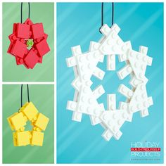 Build-It-Yourself 2014: Platecraft Ornaments! This is an all-new Holiday Build-It-Yourself Project series called Platecraft. These ornaments – Poinsettia, Starburst and Snowflake – are just three plates thick, making them lightweight and easy to assemble. Guides are available at http://chrismcveigh.com!