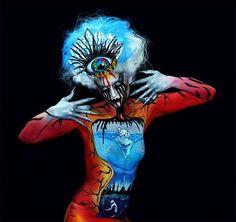 Body paint!