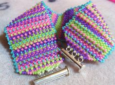 Pop of Color bracelet =) Beadwork, Beading, Colorful Bracelets, Serenity, Color Pop, Creativity, Arts And Crafts, Beaded Bracelets, Inspirational