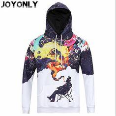 Joy Only Rainbow Unicorn Paint Smoking Cup Sweatshirt Women/Men 3D Printed Hooded Hoodies Fashion Pullover Clothing Tops M-XXXL