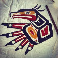 instagram – Tlingit art?