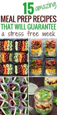 meal prep recipes I have just started meal prepping. This article is getting pinned IMMEDIATELY for all my future use for meal prep recipes for breakfast, lunch, and dinner. Amazing resource for meal prepping. Best Meal Prep, Meal Prep Plans, Meal Prep Dinner Ideas, Easy Lunch Meal Prep, Meal Ideas, Sunday Meal Prep, Low Calorie Meal Prep Lunches, Week Lunch Prep, Freezable Meal Prep