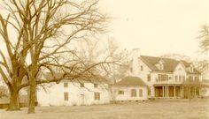 The back of the Inn at Warner Hall, circa 1935. http://www.warnerhall.com