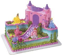 Cakes > Celebration One Tier Disney Princess Birthday Cake