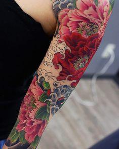 Kenji shigehara creative tattoo sleeves tattoos, body art и Pretty Tattoos, Love Tattoos, Beautiful Tattoos, Body Art Tattoos, Small Tattoos, Tattoos For Women, Tatoos, Tattoo Fleur, Japanese Tattoo Designs