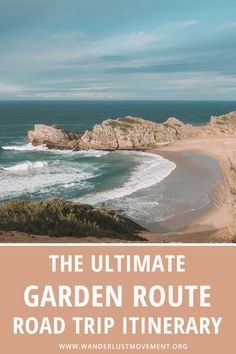 The Garden Route is one of the best road trips in South Africa! Starting in Mossel Bay, it meanders along the coast up to Stormsriver, past pristine beaches and indigenous forests. This Garden Route itinerary by a local will take you past the top Garden Route highlights. It includes Garden Route accommodation options, where to go on safari, what to do in each town and everything else you need to know to plan the perfect trip! #southafrica #gardenroute #roadtrip #africatravel #traveltips