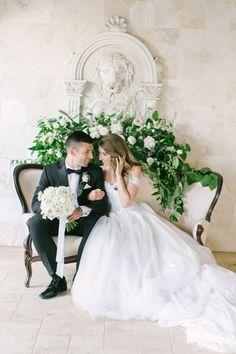 Photography : Love & Light Photographs | Grooms Attire : Calvin Klein | Floral Design : Reynolds | Wedding Dress : Mark Zunino Read More on SMP: http://www.stylemepretty.com/2016/10/11/blogger-bride-jess-galfo-wedding/