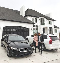 just added a new car to the family. they had an and now they also have a 2019 new luxury sport sedan. Volvo Suv, Volvo Xc60, Luxury Homes Dream Houses, Luxury Life, Luxury Suv, My Dream Car, Dream Cars, His And Hers Cars, Hello Fashion Blog