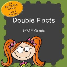 Doubles Fact Pack