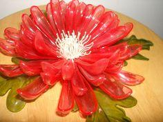 VTG 1968 C.K. IND. CO. LTD. RARE CELLULOSE ACETATE BIG PINK LUCITE 3D FLOWER Hippie Flowers, Cellulose Acetate, Pink Purple, 3d, Color, Colour, Colors