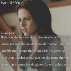 How Bella got her name