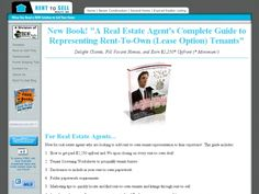 Rent-to-sell Your Own Home E-manual- $15
