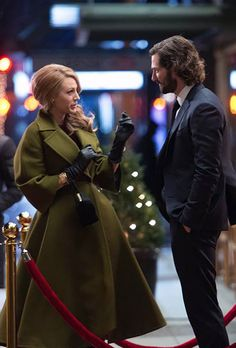 Gucci coat The Age of Adaline