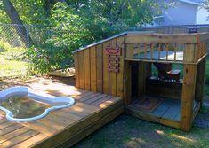 Вольеры для собак (фото): домик для питомца своими руками Смотри больше http://kot-pes.com/volery-dlya-sobak-foto-domik-dlya-pitomca-svoimi-rukami/