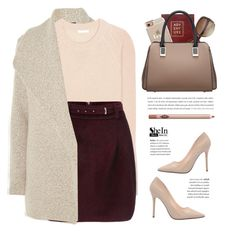 """""""Shop - Shein"""" by yexyka ❤ liked on Polyvore featuring James Perse, Chloé, Sloane Stationery, Casetify, Charlotte Tilbury, women's clothing, women's fashion, women, female and woman"""