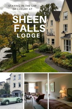 Are you looking for a romantic getaway? Or are you looking for a luxurious Irish vacation? Sheen Falls Lodge should be your choice. It is a beautiful 5-star resort hotel located right next to Sheen Falls. Come and experience staying in the Lap of Luxury at Sheen Falls Lodge in Kenmare, Ireland.