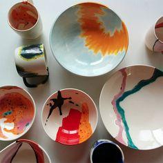 Pottery by Elnaz Nourizadeh | Design Crush | Bloglovin'