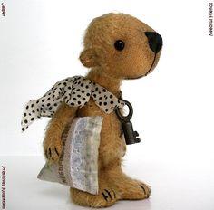 Jasper miniature #vintage #bear 3,5 inches
