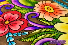 Colored with #spectrumnoircolorista from #crafterscompanion #adultcoloring #coloringbook #adultcoloringbook