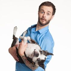 Curtis Lepore and his dog Buster Beans