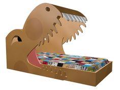 DinosaurBednoveltythemebedskidsbedroomfurnituredinosaur