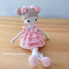 Knitted Dolls Free, Doll Amigurumi Free Pattern, Crochet Bunny Pattern, Crochet Amigurumi Free Patterns, Doll Patterns Free, Baby Knitting Patterns, Knitting Dolls Free Patterns, Amigurumi Toys, Crochet Baby Toys