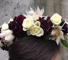 fabulous vancouver wedding Pretty hair crowns. Taryn designed this beauty. #vancouverflorist #flowerfactory #flowercrowns by @flowerfactory  #vancouverflorist #vancouverwedding #vancouverwedding