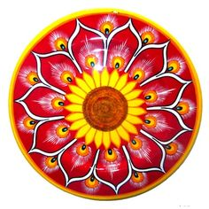 Post image for Decorative Mexican Folk Art: Wooden Plates from Guerrero