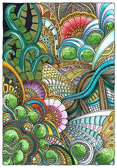 Floral Fantasia 31 July 2014 by Artwyrd on deviantART