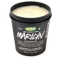 We know from first hand experience that being blonde isn't for the faint of heart.  The upkeep can get expensive and keeping hair healthy is a lot of work. Luckily, we've stumbled across Lush's Marilyn Hair Moisturizer to ease our blonde woes. Marilyn majorly moisturizers hair and brings out blonde tones in the natural and not-so-natural golden hair gals. @LUSH Cosmetics