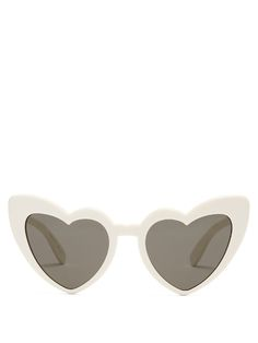 4d8cb31c04e  saintlaurent  sunglasses Heart Shaped Frame