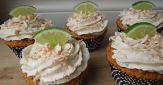 Paleo Friendly Coconut Lime Cupcakes ♥