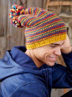 Yarnspirations.com - Patons Change Your Stripes Hat - Patterns  | Yarnspirations